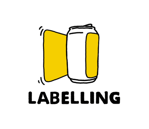 East Coast Canning: Labelling icon