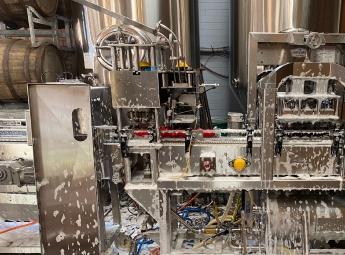 East Coast Canning Codi machine wash down
